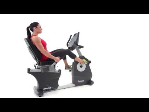 Spirit Fitness CR800 Recumbent Bike