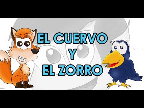 Videocuento La Fábula Del Cuervo Y Del Zorro Youtube