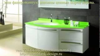 видео мебель в ванную на заказ