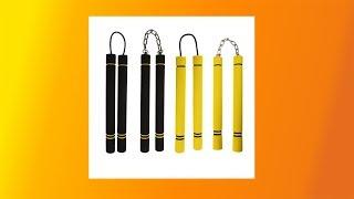 Best Martial Arts Foam Nunchaku Nunchucks Sponge Stick Chain Practice Training Safety
