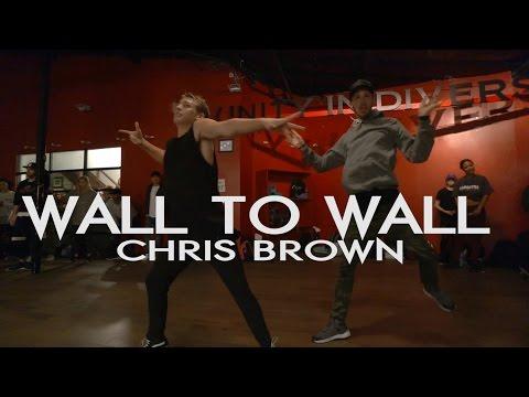 Wall to Wall - Chris Brown ** Crazy Dance Class