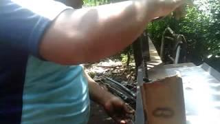 Membengkokan plat dg cara manual