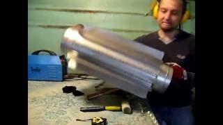 Изготовление трубы - радиатора на камин. Сталь AISI 321 толщиной 1мм.(, 2016-06-19T12:00:55.000Z)
