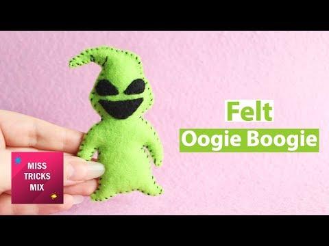 Oogie Boogie Felt Plush | Halloween Crafts.