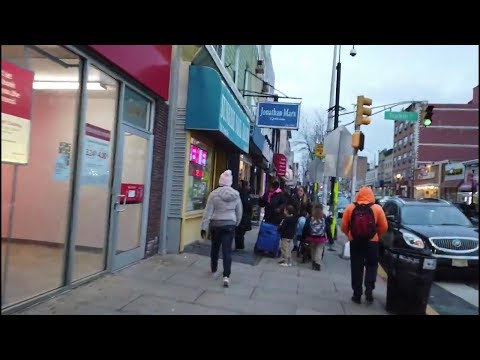 Walking On Central Avenue In Jersey City, New Jersey, USA!!
