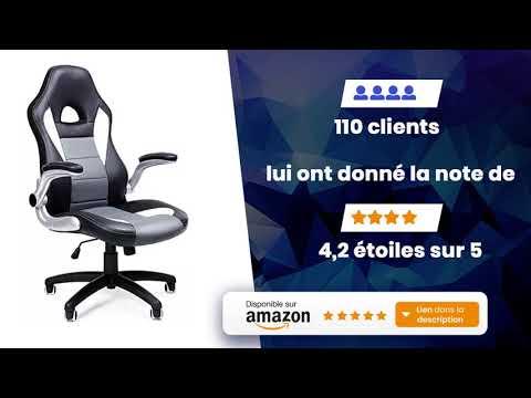Songmics Gamer Obg28g Fauteuil Bureau De 4R5jq3AL