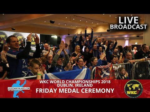 Ring 1 Part 2 Friday Fighting Gold Medal Rounds | 2018 WKC World Championships In Dublin Ireland