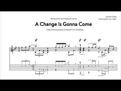A Change Is Gonna Come - Bill Frisell (Transcription)