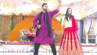 Nashe si chad gayi beautiful holud dance