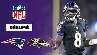 Résumé : Lamar Jackson et les Ravens font tomber les Patriots !