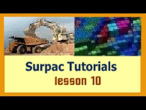 Surpac Tutorials - Lesson 10- Basic Statistics (Histogram, Bimodal distribution and Outliers)