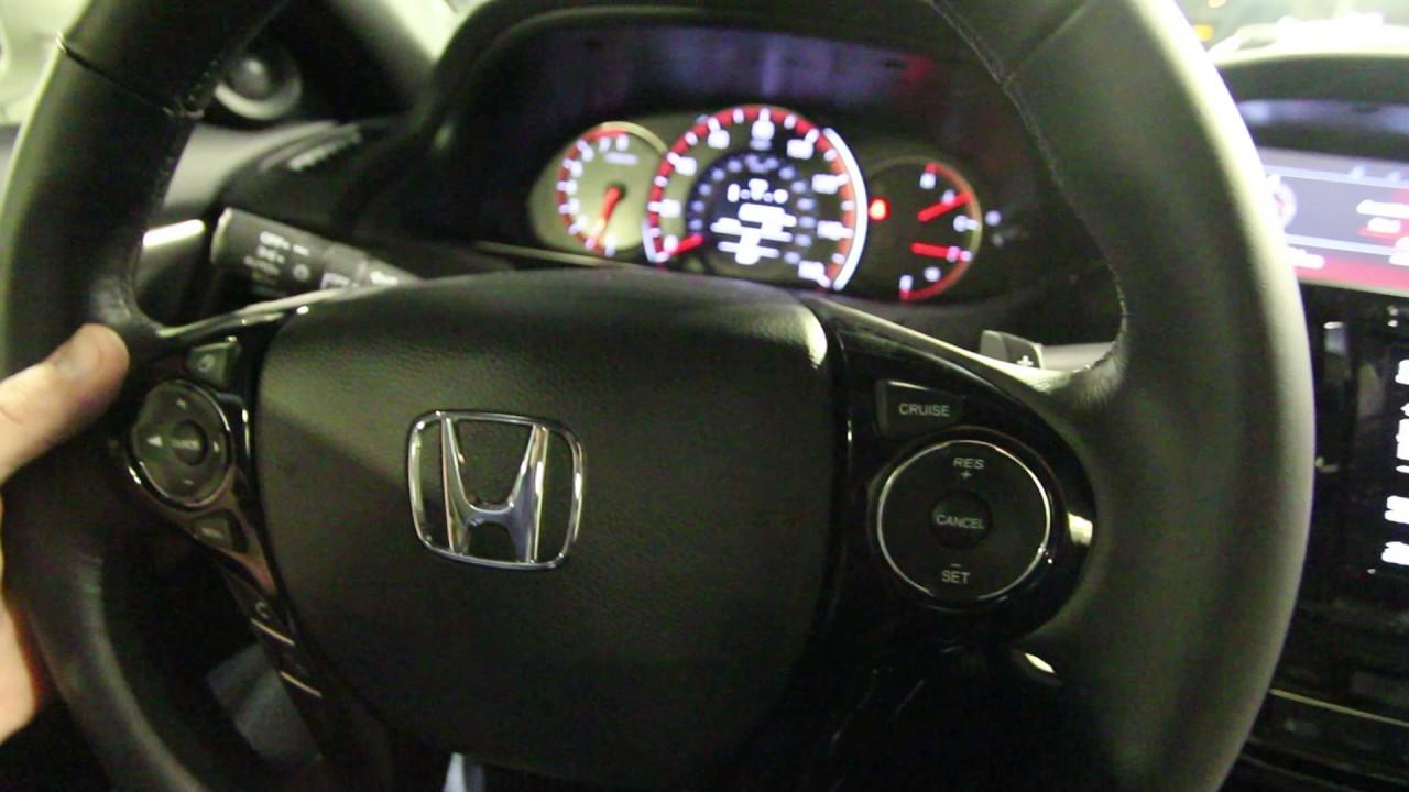 Part 2   Interior Of 2017 Honda Accord Coupe | Stokes Honda North TV    YouTube