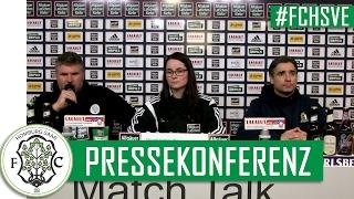 #FCHSVE // Pressekonferenz FC 08 Homburg - SV Eintracht Trier (RLSW 2016/17)