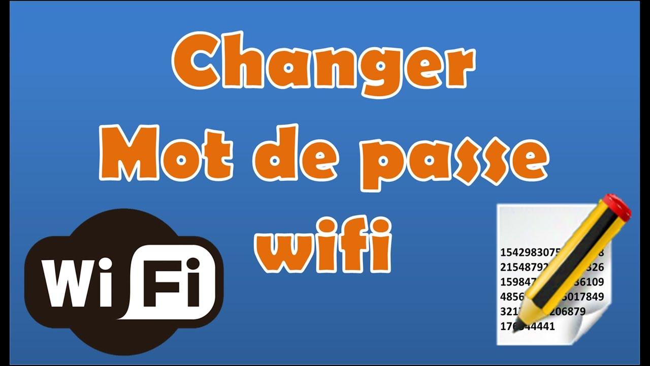 comment changer son mot de passe wifi tuto pc windows astuces youtube. Black Bedroom Furniture Sets. Home Design Ideas