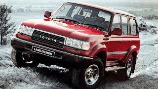 Царь внедорожников! Toyota Land Cruiser 80