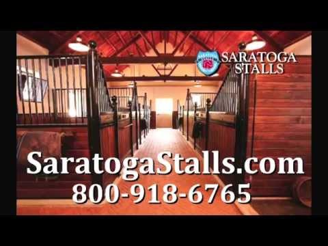 Saratoga Stalls European Styled Horse Stalls