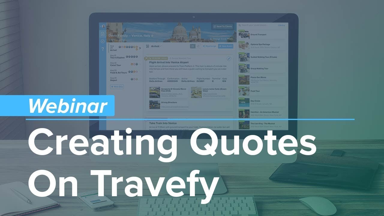 Quotes About Arte Webinar Creating Quotes On Travefy