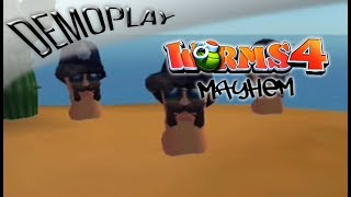 Demoplay: Worms 4 Mayhem