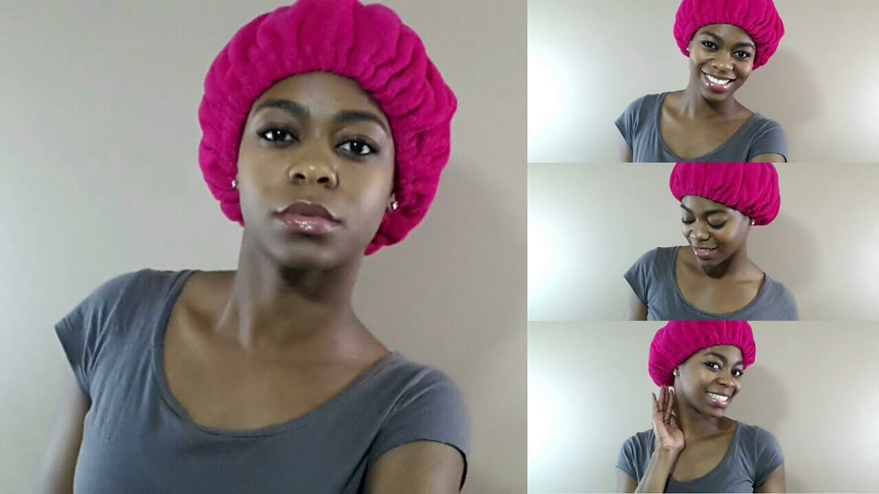 Natural Hair Conditioning Cap
