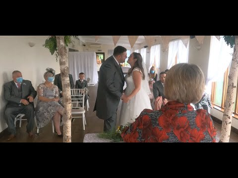 Amy and Stuart   Wedding Ceremony Livestream   Skylark Farm