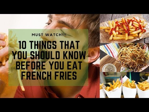 10 Health Benefits in Eating French Fries