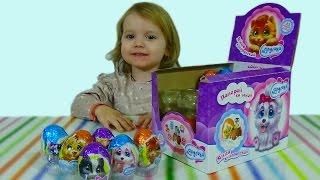 Лапусики яйца сюрприз / обзор игрушек
