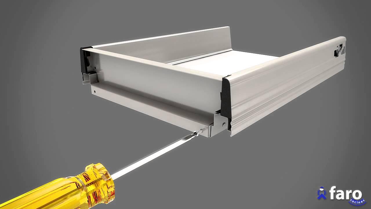 Instrucciones de montaje de mueble bajo 4 cajones de faro for Muebles de cocina para montar