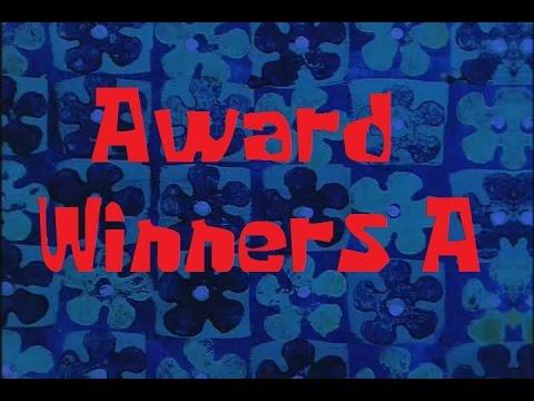 SpongeBob Production Music Award Winners A