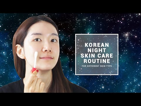 Wakeup More Beautiful ! Korean Night Skin Care Routine | Wishtrend