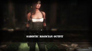 TES 5: Skyrim | Женская одежда боевого мага