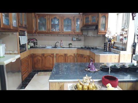 التنضيف العميق ل الصالون و جولة في مطبخي
