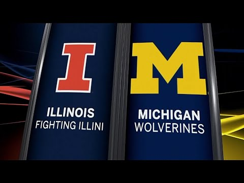 Illinois at Michigan - Men's Basketball Highlights