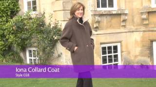 Cashmere Capes and Coats   Iona Collared Coat
