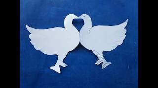 How To Make pigeon paper folding  By Praveen DL