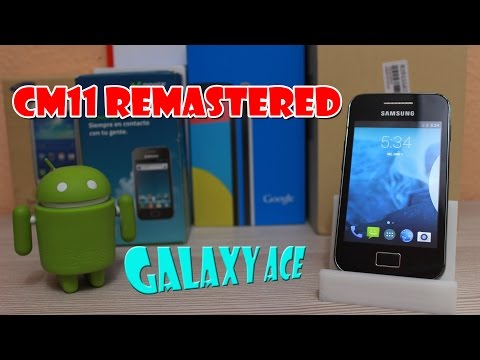 Tutorial ROM S5830M S5830i CyanogenMod 11 Remastered