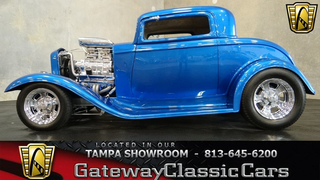 1932 Ford 3 Window Coupe - YouTube