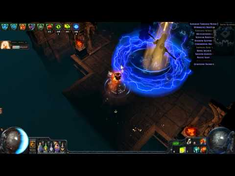 Path of Exile Death and Taxes Necropolis Map 10 07 2014