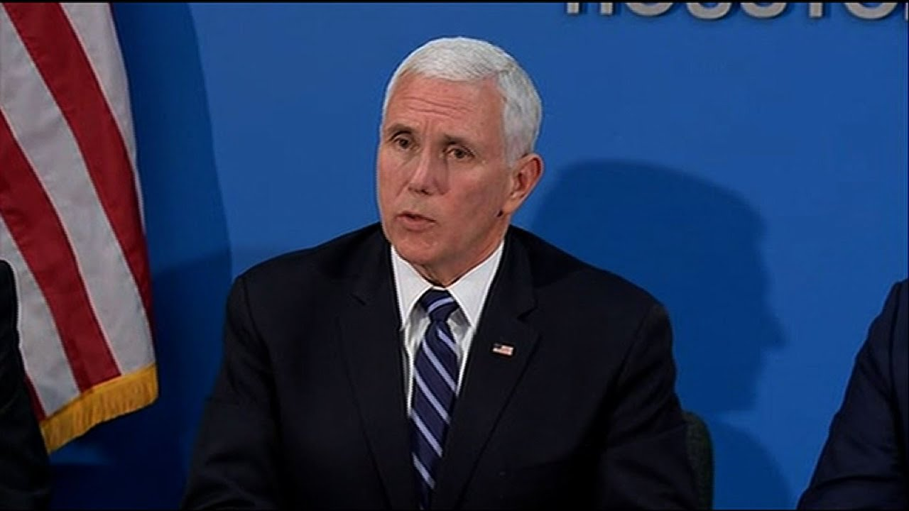 VP Pence: 'Mexico's Stepping Up' On Border Issue