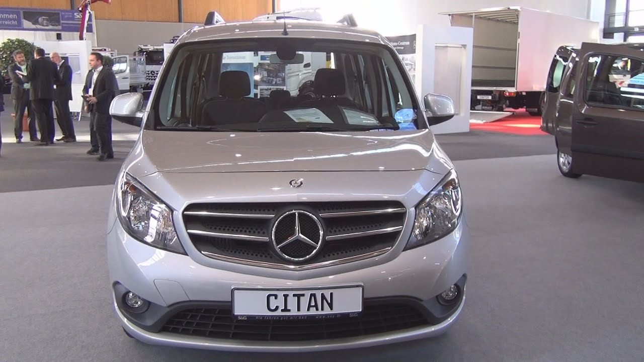 mercedes benz citan tourer 111 cdi kb l 2016 exterior and interior in 3d youtube. Black Bedroom Furniture Sets. Home Design Ideas