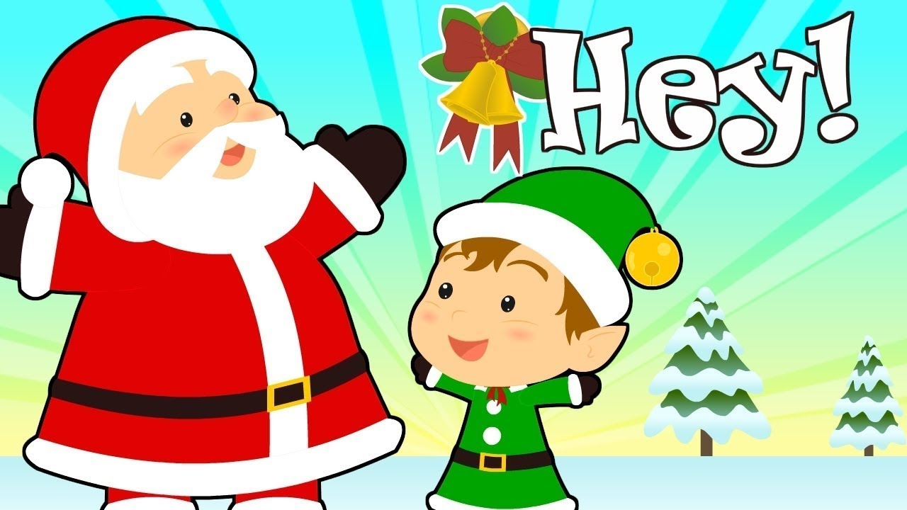 JINGLE BELLS with Santa Claus and his Helpers 🎅 Christmas Songs for Kids | Children's Music ...