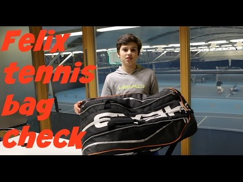 #10 Bag Check With Felix - Tennis Brothers 2016