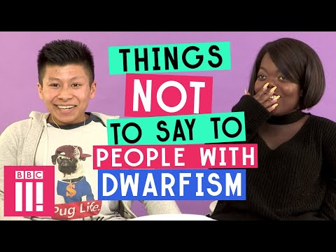 Things Not To Say To People With Dwarfism