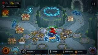 Kingdom Rush Frontier FINAL LEVEL *ON INSANE*  with ASHBITE HD