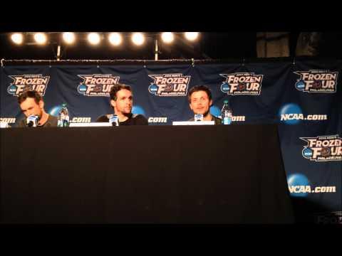 University of North Dakota Press Conference: Frozen Four Semifinals Practice (4/9/14)