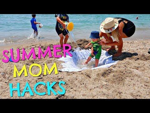 SUMMER MOM HACKS  |  SUMMER MUM HACKS  |  BEACH HACKS