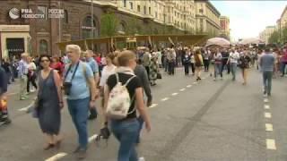 Фестиваль  Времена и эпохи  на Красной площади