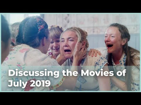 Discussing the Movies of July 2019 (Audio Podcast)