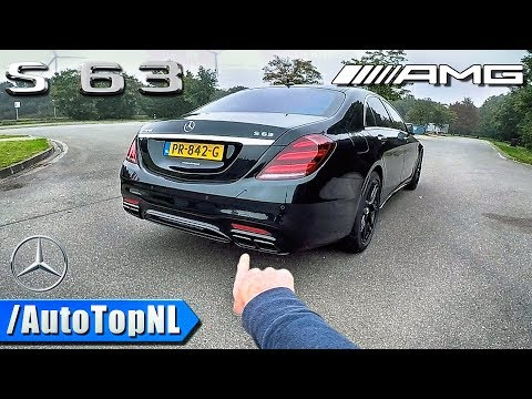 2018 Mercedes-AMG S63 4Matic+ REVIEW POV Test Drive By AutoTopNL