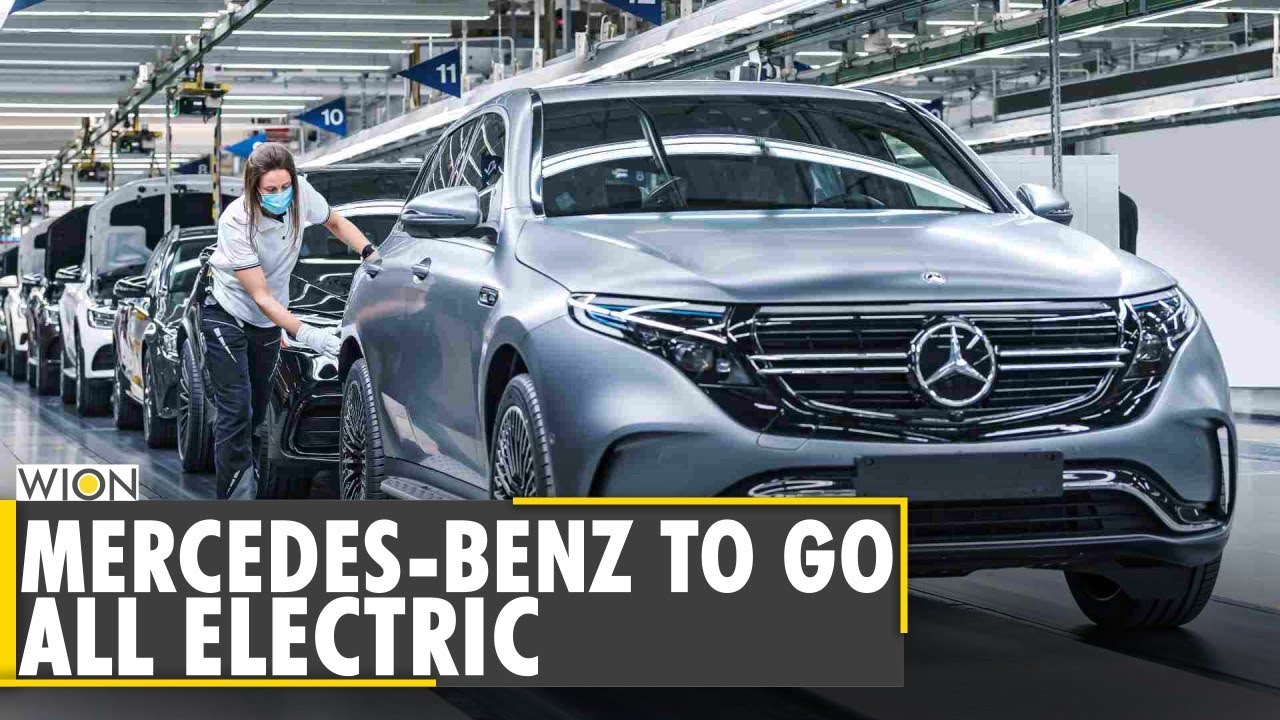 World Business Watch: Mercedes-Benz aims to go all-electric in 2030 | Daimler | WION English News