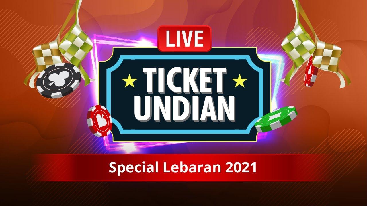 Live Streaming Tiket Undian Special Lebaran 2021 - IDNCASH